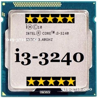 CPU Core i3-3240 Processor 3M Cache, 3.40 GHz